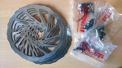 Avid G3 SS SolidSweep Disc Brake Rotors 185mm with 6 bolt bolts Solid Sweep G3SS