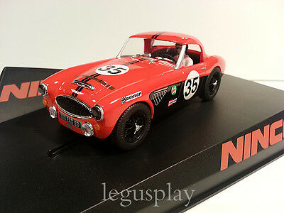 SCX Scalextric Slot Ninco 50608 Austin Healey Sport Red