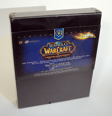 WORLD OF WARCRAFT Trading Card Game THE ALLIANCE Art Card Set Limited NEW