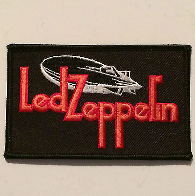 BRAND NEW Led Zeppelin Patch Embroidered Iron On/Sew On Patch - 4 x 2 1/2 Inches