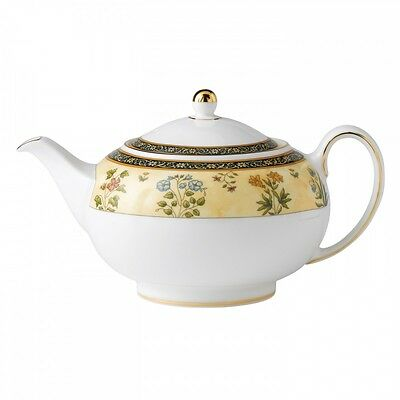 Wedgwood India Teapot 1.4 pt New With Tag