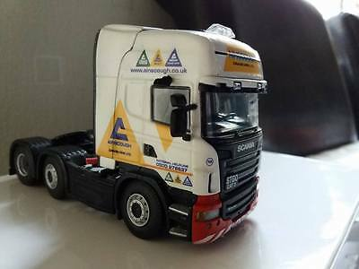 Scania Ainscough Decals 1:50 New Livery Code 3 Suitable For Wsi Tekno Corgi