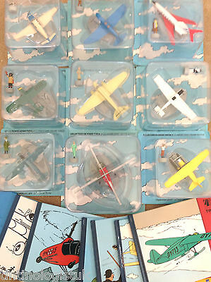 HACHETTE Tintin Plane Collection BUY INDIVIDUALLY Herge Figurine Figure Avion