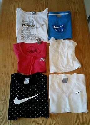 6x womens sports tops bundle NIKE,ADIDAS. Size xs-s. FREE SHIPPING