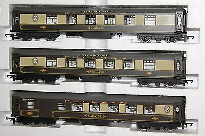 Hornby Made In China Rake Of 3 Unlit Pullman Coaches Ex R 1024 Train Set