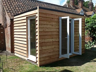 Insulated garden office / gymnasium from  £550m2