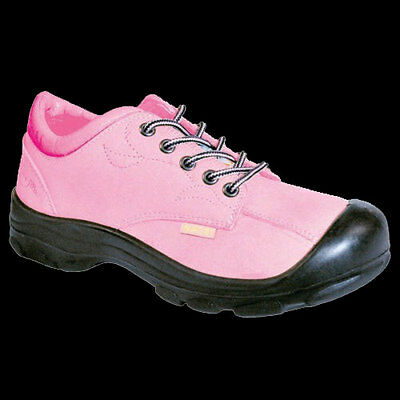Women's P&F Steel Toe Work Shoes Pilote & Filles S555-ROSE Size 9 USA