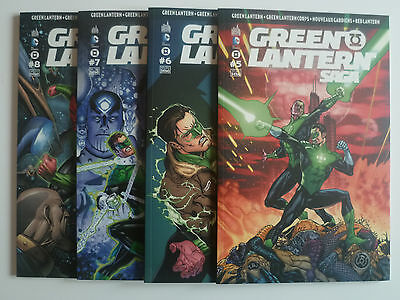 "Panini comics DC Lot "" GREEN LANTERN SAGA "" 5 à 8"