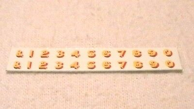Triang Hornby Lima Lner Numbers X2 Transfers Decal Yellow Gold / Red Spares