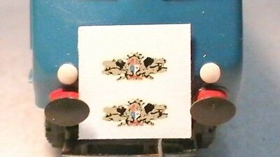 Triang Hornby Lima Pullman Loco Crest Transfers / Water Slide Decal's X2 Spares