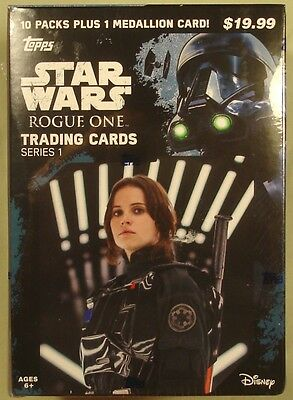 Star Wars Rogue One Topps 10-pack box new/sealed