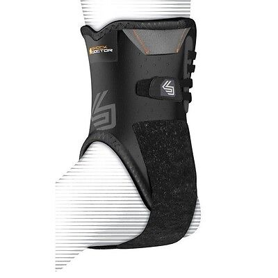 Shock Doctor 847 Ankle Brace with Bilateral Stabilisers Support Injury Recovery