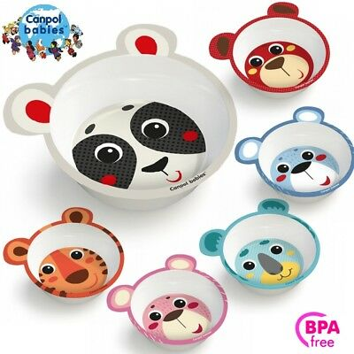 Melamine baby BOWL WITH EARS  and non-skid bottom