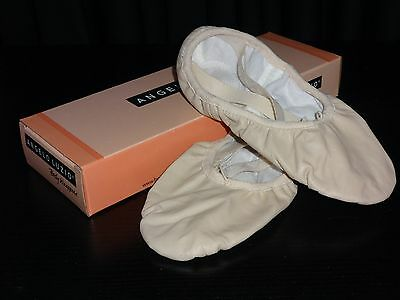 Body Wrappers 202A Sterling Leather Ballet Shoe