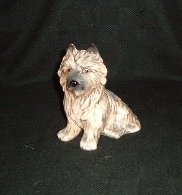 Vintage SylvaC Pottery Cairn Terrier Dog Figure Model Number 3447