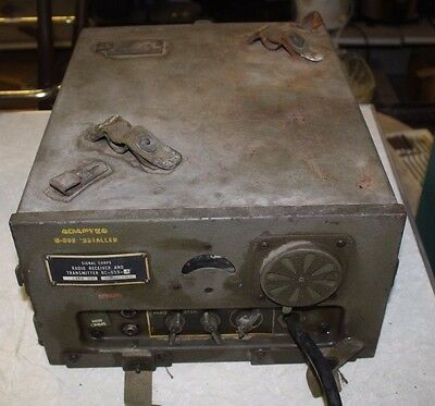 Us Army Early 50's Signal Corps Receiver & Transmitter Bc-659-J Free Shipping