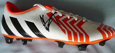 Claude Makelele Signed Football Boot - Chelsea FC, Adidas, France, Real Madrid