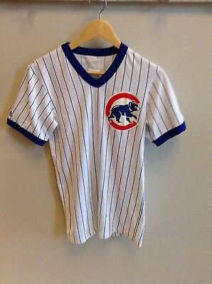Vintage Chicago Cubs shirt/jersey by Majestic - Slimfit - Large