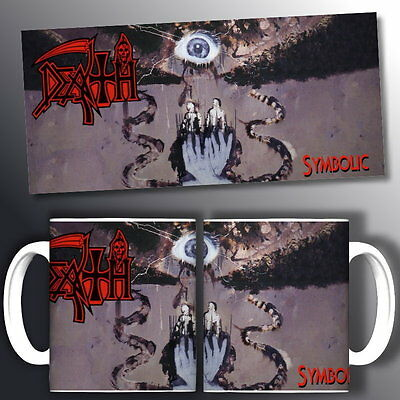 tazza mug music DEATH symbolic, rock metal scodella ceramica
