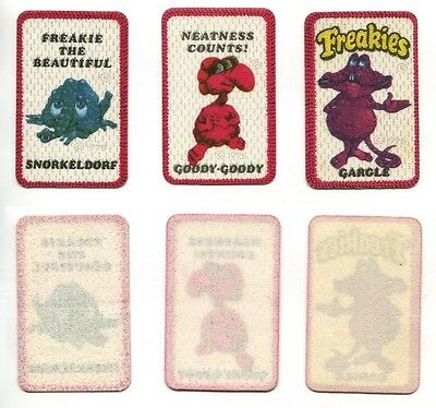 Freakies Cereal Iron On Patch 1970's - Goody Goody