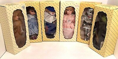 Wizard Of Oz Dolls By Camille Limited Collection Complete Set Of Six