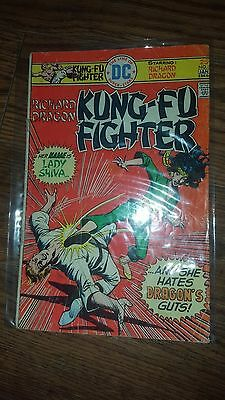Richard Dragon's Kung-fu Fighter #5 1st Appearance Sandra Woosen as Lady Shiva