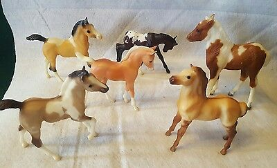 Vintage Breyer Horse ~ Lot of 6 ~ Traditional Series Foals ~ Ponies