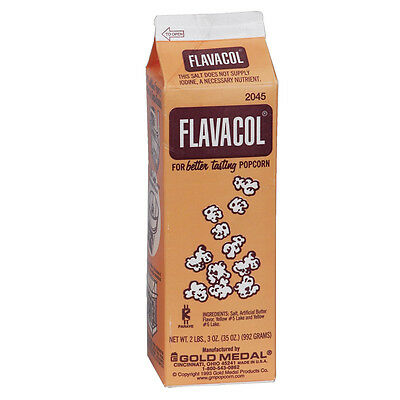 992 Grams Genuine FLAVACOL Butter Popcorn Salt! Movie Popcorn at your house!