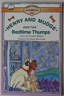 Vintage Bullmastiff Story  Henry And Mudge And The Bedtime Thumps