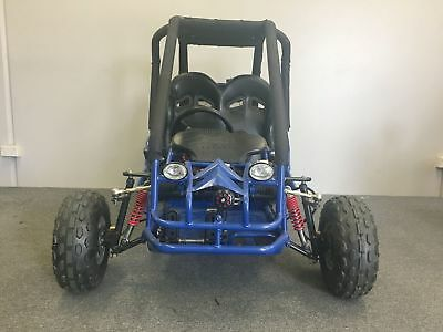 90cc Offroad Dune Buggy Quad ATV Teen Twin Seat Remote Control Right Hand Drive