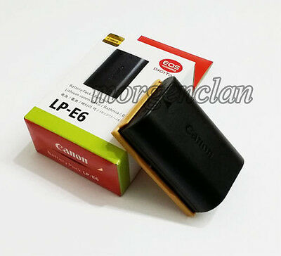New Canon LP-E6 LPE6 Battery for EOS 5D II 5D III EOS 7D 60D LC-E6