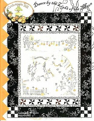 DANCE BY THE LIGHT OF THE MOON EMBROIDERY PATTERN From Crabapple Hill Studio NEW