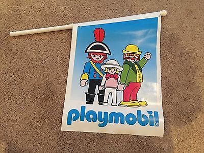Playmobil Store Display Flag/Banner Double Sided Thick Vinyl Material