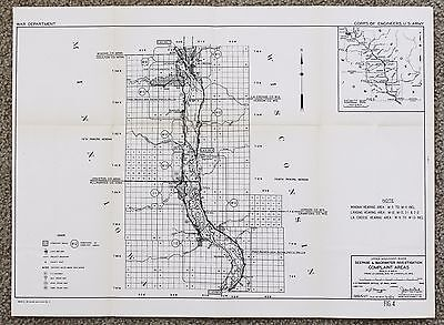 1945 Lacrosse Wisconsin Mississippi River Minnesota New Albin Hokah Survey ACOE