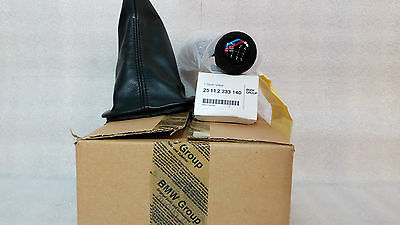BMW M3 E30 Sport Evolution EVO3 Knob & Cover Sport Gearbox Dogleg Shift OEM New