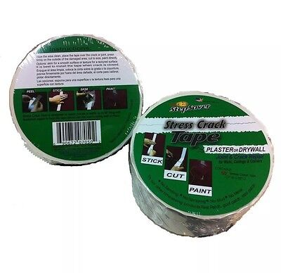 Stepsaver Products 7050 Self Adhesive 50-Feet x 2-Inch Stress Crack Tape ... New