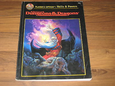 AD&D 2nd Edition Player's Option Skills & Powers Softcover TSR 2154 englisch