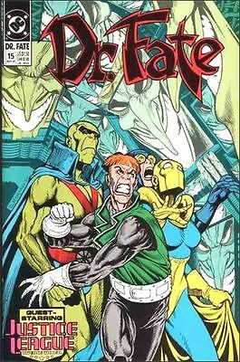 DOCTOR  FATE  { DC  -  Mar  1990}   ##15  ##16  ##17