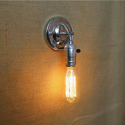 Industrial Vintage Loft Wall Light Wall Lamp Wall Sconce Fixtures Fitting 6652HC