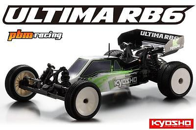 SALE Kyosho Ultima RB6 RTR 2WD RC Brushless Electric 1/10th Buggy 30858