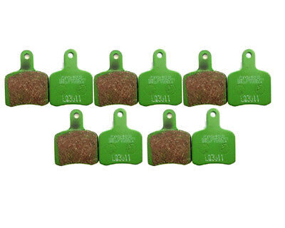 5 Sets of EBC FA540s Green Soft OTK/TonyKart Brake Pads Go Kart