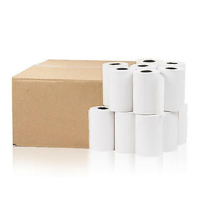 "2-1/4""x1- 60' (7/16)Thermal Paper 50 Rolls for POS and Cash Register Commercial"