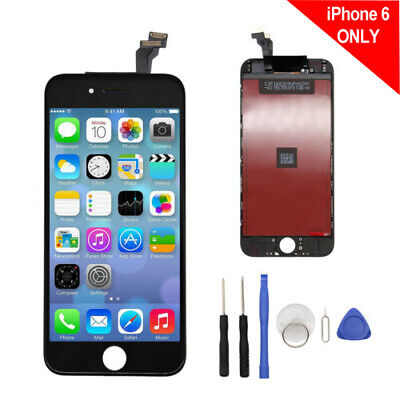 Black LCD Display+Touch Screen Digitizer Assembly Replacement For iPhone 6 !~