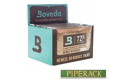 Boveda 72% RH 2-way Humidity Control, Large 60 gram size, 12-pack Full Box