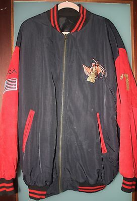 Meat Loaf Bat out of Hell Tour Jacket and Commemorative Plaque