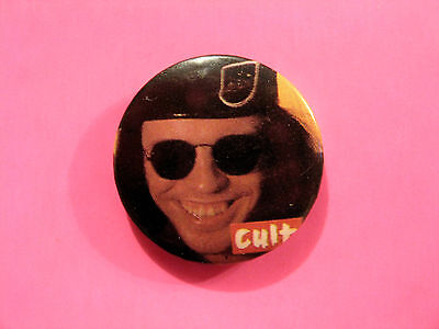 The Cult Vintage Button Badge Pin Uk Import