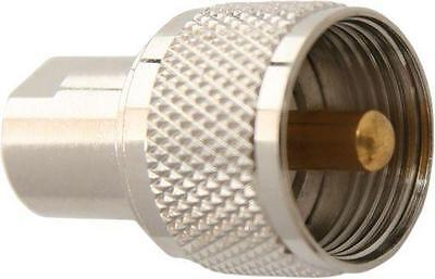 UHF Male (PL259) to FME Male Straight Extender Antenna Connector Adapter