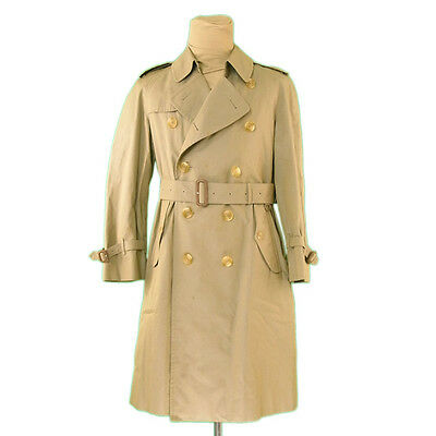 Auth Burberry Court Trench Mens used L1000