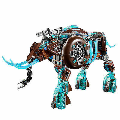 Lego 70145 Mammoth Stomper Vehicle ONLY No Box No Minifigures w Instructions