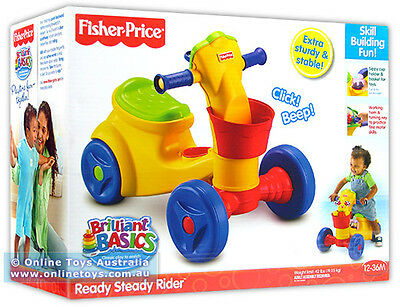 Fisher Price - Ready Steady Ride